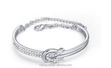 2015 Austria Crystal Bracelet - Ruyi knot - be all things to all men fashion new style alloy glass Bracelets abs Bracelets
