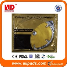 CE certificate! Collagen Crystal face mask gold bio-collagen facial mask