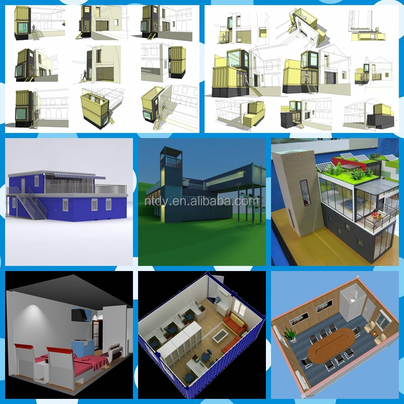 Container house, villa with CCS certification