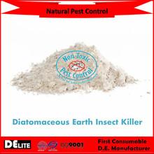 DElite Organic 300G/Bottle Diatomite Earth Powder Pesticides, Mites, Ants, Slugs,Bugs Killer