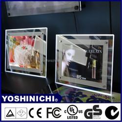 Wholesale High Quality Polishing Edges Advertising LED Light Frame