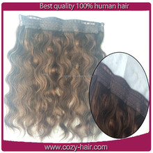 2015 hottest hair body wave flip in hair extensions remy 7a 100g/bundle