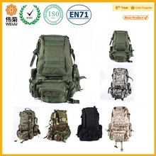 Outdoor camping hiking military tactical backpack bag