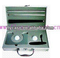 Aluminum durable handcrafted hot sale in occident golf travel case with logo printed