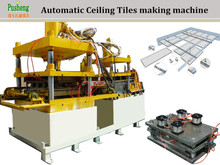 Hydraulic cutting and bending machine for metal clip in 600 * 600 mm ceiling tiles