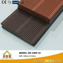 2015 Green Products Outdoor WPC/ wood plastic composite (wpc decking)