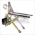 De acero inoxidable de alta hidráulico de elevación de tijera plataforma de camión/paletas/transpaletas/montacargas