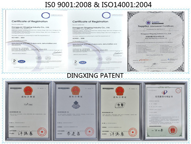 PATENT & ISO of Dingxing industry