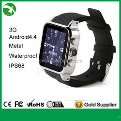 Factory ip67 waterproof smart watch for watch phone new fashion in 2015 support android, bluetooth, wifi, GPS