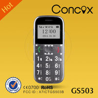 Concox GS503 Mobile phone with loud sound Sos senior mobile phone satellite cell phone tracker online gps gprs tracking