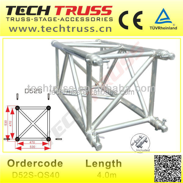 D52 qs40 used truss aluminum dj lighting trusses buy for Order trusses online
