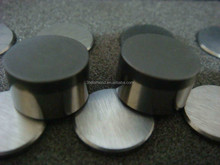 Flat PDC cutter/insert 1308 for coal field, processing stones, gas/oil drilling