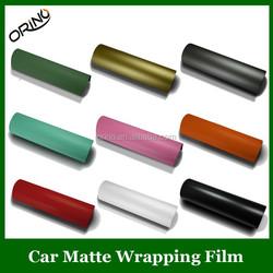 1.52*30M PVC Matt Vinyl Different Color Self Adhesive Vinyl Film With Air Channel