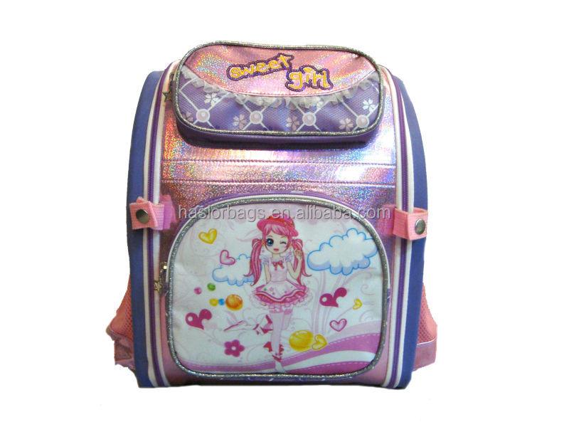 Eva violet mode enfants sacs à dos, Sac d'école pour enfants