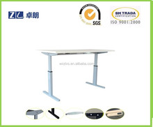 electric lifting table leg used on office desks with two leg