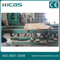 compress machine for wood pallet making