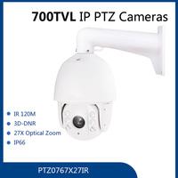 PTZ0767X27IR X27 700tvl night version surveillance ccd camera