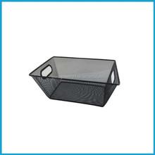 Trapezoid Metal storage box,Mesh drawer tray, Mesh organizer
