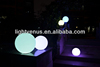 Factory Direct Sale Led Plastic Globe with Remote led ball light outdoor garden waterproof lamp