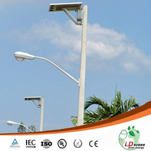 Manufacture led solar lamp post adjustable 2 years warrant solar light outdoor decorative