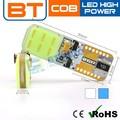 Lámpara LED T10 Canbus para auto, LED de 5 W para auto, súper LED T10 Canbus