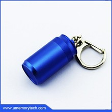 Oilcan shaped pen drive key chains/pen drive with keychain/key ring pen drive
