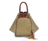 2015 stylish canvas tote bags multifunction canvas backpack big size women tote bag