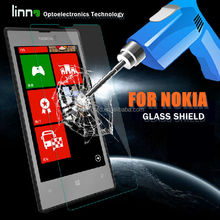 Anti-shock mobile phone premium tempered glass lcd screen protector for nokia X China maufacture