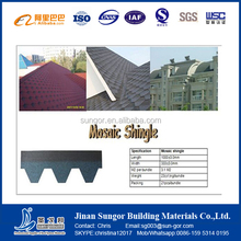 Chinese Manufacturer of Colorful Asphalt Roof Shingles