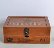 hot sale painted/ laser-carving antique wooden Jewelry Box in pine/MDF/Mahogany/rosewood