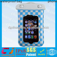 cheap pvc waterproof phone diving case for iphone 4s