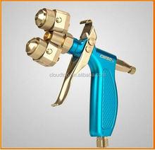 Ningbo air tools 2015 pneumatic rivet nut tools mini chrome double nozzle spray gun