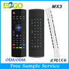 Hot b2go mx3 2.4g mini fly air gyro mouse wireless keyboard for android
