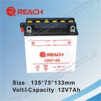 Hot Sale High Quality Rechargeable Motorcycle Battery Manufacturer in China