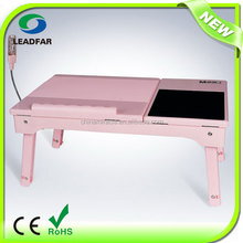 Deluxe design foldable adjustable laptop table for disabilities