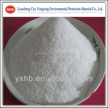 Polyacrylamide used as adhesive of well drilling mud raw materials