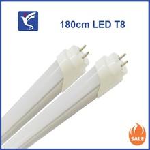 ETL listed 28W 180cm 1.8m T8 LED tube light, 1800mm LED tube 6ft 6 foot 6'