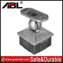 stainless steel handrail bracket/square pipe mounting bracket