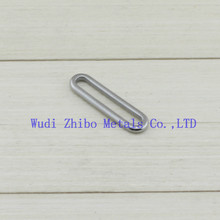 High quality Hardware Oval and S Ring For Bag or clothes made in China