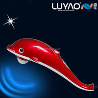 Reasonable price china dolphin shape personal body manual electric handheld far infrared massage hammer