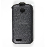 Luxury design high quality heat press leather flip case for lenovo A690