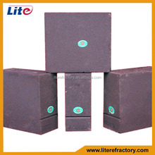 Refractory Fire Brick Magnesia Alumina Spinel Brick for Transition Zone of Cement Rotary Kilns Industry