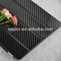 Napov - high quality carbon fiber smart cover case, for ipad air case