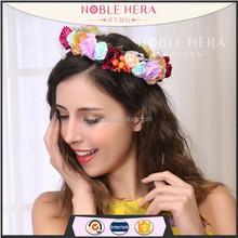 Handmade Flower Wreath and Wedding Bridal Hair Accessories Flower Garland