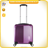 2015 new style ABS trolley luggage purple fashion travelling luggage cabin luggage