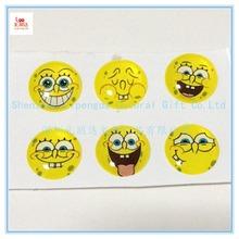 Crystal fashion wholesale promotion laptop stickers, laptop stickers home button stickers for apple