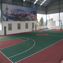 Ministry of education purchase interlocking basketball court tiles