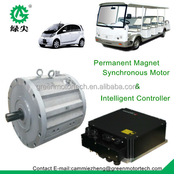 High voltage permanent magnet synchronous motor for for Permanent magnet synchronous motor