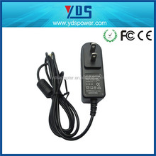 2015 Hot model 12v 1a 2a mini cube travel mobile phone ac wall charger,wall plugin charger 12v 1a