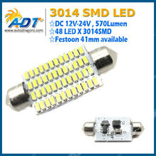 41MM Festoon SMD 3014 Led Car Lamp,Interior Light ,Tuning Light